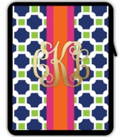 METALLIC Monogram iPad Tablet Sleeve