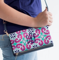 Mia Tile Crossbody Monogrammed Purse
