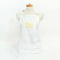 Mom Personalized White Apron