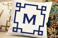 Monogram Pillow - CHOOSE YOUR COLOR!