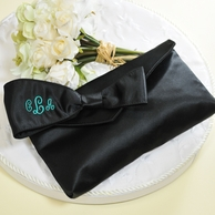Monogrammed Bridesmaid Clutch Purse with Survival Kit