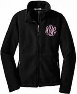 Monogrammed Fleece Jackets