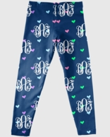 Monogrammed Girls Leggings