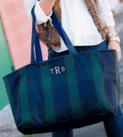 Monogrammed Haul-It-All Totes