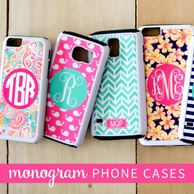 Monogrammed iPhone 6 & 6S Cases