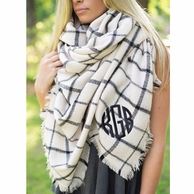 Monogrammed Scarves & Accessories