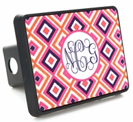 Monogrammed Trailer Hitch Covers