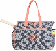 Nantasket Monogrammed Tennis COURT Bag