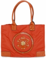 Orange Marilyn Monogrammed Beach Tote