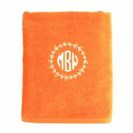 Orange Personalized Towel