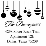 Ornaments Personalized Stamper
