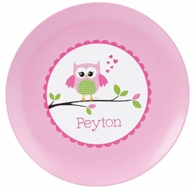 Owl Love You Personalized Kids Plate / Bowl