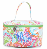 Paisley Breeze Bright Monogrammed Train Case