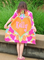 Paisley Floral Personalized Kids Super Hero Cape
