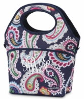Paisley Park Monogrammed Lunch Tote