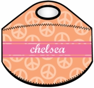 Peace Personalized Lunch Tote - CHOOSE YOUR DESIGN!