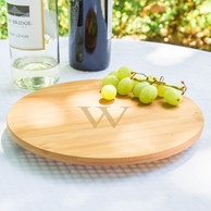 Personalized Bamboo Wood LAZY SUSAN - Choose Your Size!