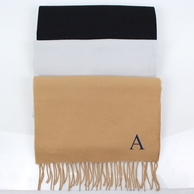Personalized Cashmere Soft Scarf