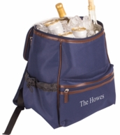 Personalized Insulated Navy Backpack Cooler Bag