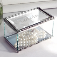 Personalized Jewelry Boxes & Trays