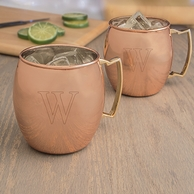 Personalized Moscow Mule Copper Mugs - SET OF 2