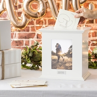 Personalized Reception Card Holder Photo Box
