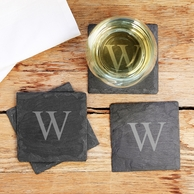 Personalized Slate Coasters - SET OF 4