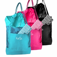 Personalized Spa Mesh Tote 3 Piece Gift Set