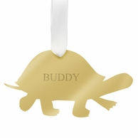 Personalized Turtle Pet Ornament