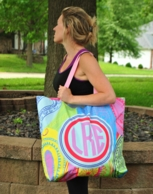 Personalized Yoga Tote Bags