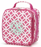 Pink Sadie Personalized Lunch Tote