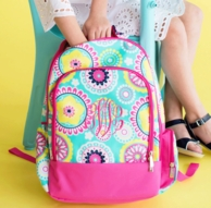 Piper Monogrammed Backpack