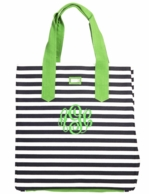 Piper Monogrammed Beach Bag