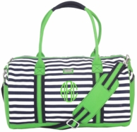 Piper Monogrammed Day Duffel Bag