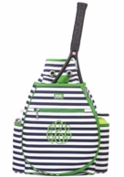 Piper Monogrammed Tennis BACKPACK