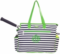 Piper Monogrammed Tennis COURT Bag
