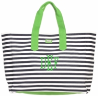 Piper Monogrammed XL Boat Tote