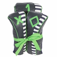 Piper Navy Stripe Golf Club Head Covers