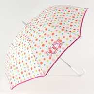 Polka Dot Personalized Children's Umbrella