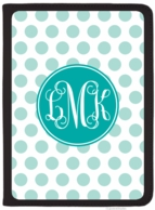 Polka Polka Monogrammed iPad AIR Folio Cover - DESIGN YOUR OWN!