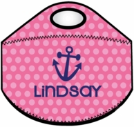 Polkadots Personalized Lunch Bag - CHOOSE YOUR DESIGN!
