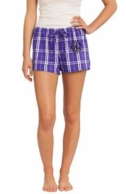 Purple Monogrammed Boxer Shorts