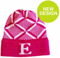 Puzzle Personalized Knit Beanie Hat