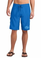 Royal Blue Monogrammed Men's Board Swim Shorts