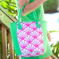 Shelly Monogrammed cooler Tote