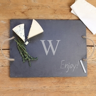 Slate Personalized Serving Board