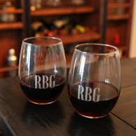 Stemless Red Wine Glasses (Set of 4)