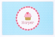 Sweetcakes Personalized Kids Placemat