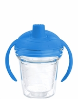 TERVIS Clear with Blue Lid Sippy Cup
