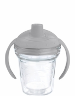 TERVIS Clear with Gray Lid Sippy Cup